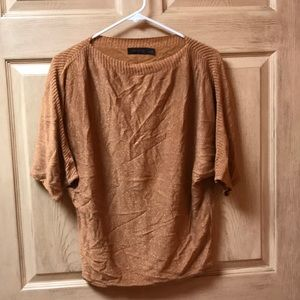 The limited sparkling bronze sweater